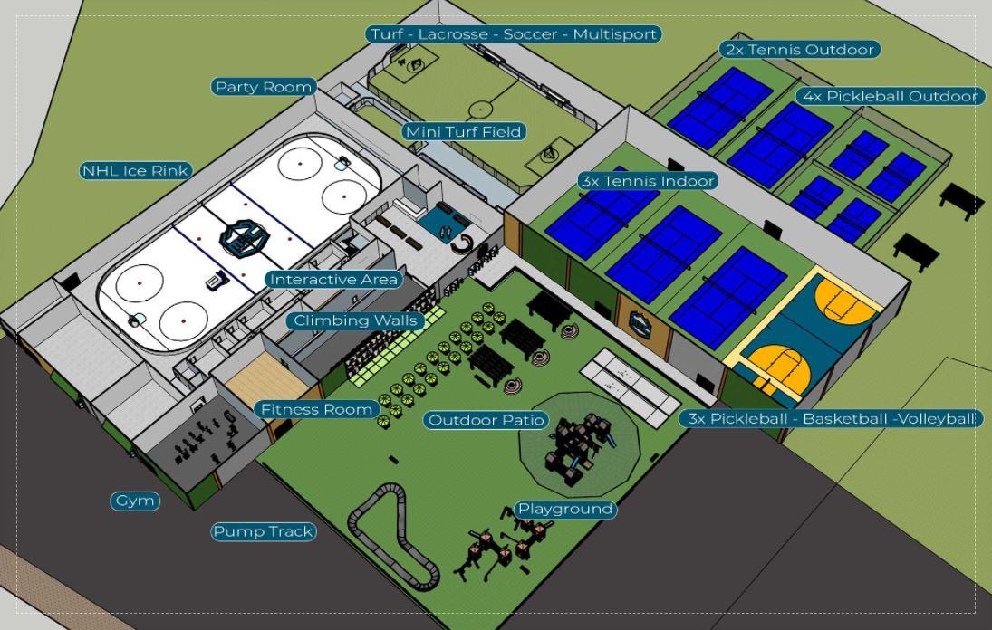285 corridor recreation center